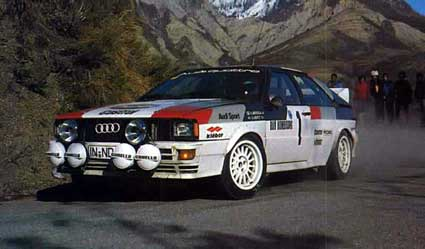 The original Group 4 Quattro