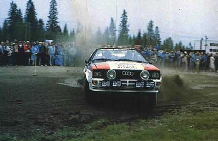 In it's natural environment - The Gp 4 Quattro